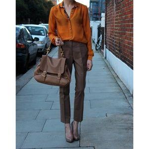 Michael Kors silk brown pants